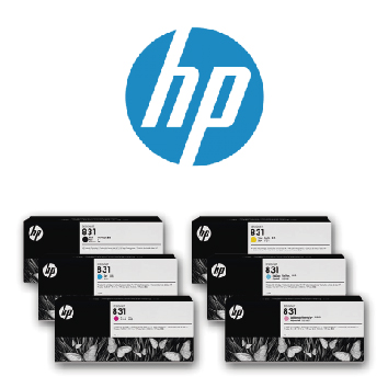 Tinta latex HP831
