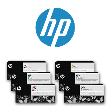 Tinta latex HP792