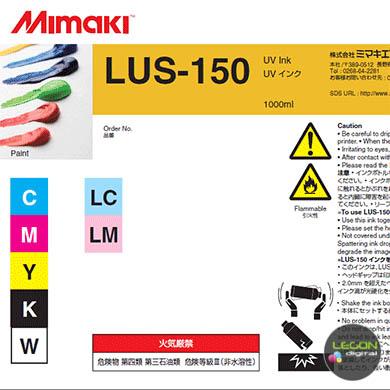 lus15 x ba etiqueta - Botella Mimaki LUS-150