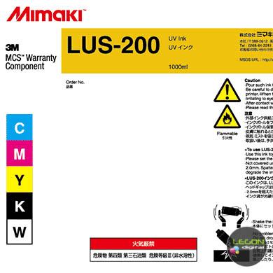 lus20 x ba etiqueta - Botella Mimaki LUS-200