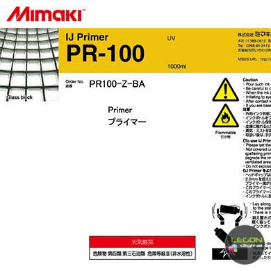 pr100 z ba etiqueta - Botella Mimaki PR-100
