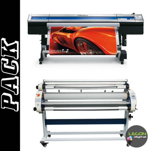 xr 640 y l300 500x500 - Roland SolJet Pro4 XR-640 y Widlaminator L300