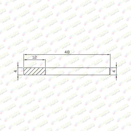 dl 4 12 48 500x500 - Fresa alta precisión plásticos y madera 4 x 12 x 48mm