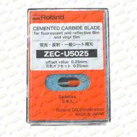 zec u5025 01 200x200 - Cuchilla Roland alta duración para vinilo de rotulación, film fluorescente y reflectivo (5u) [ZEC-U5025]