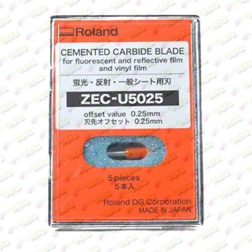 zec u5025 01 500x500 - Cuchilla Roland alta duración para vinilo de rotulación, film fluorescente y reflectivo (5u) [ZEC-U5025]